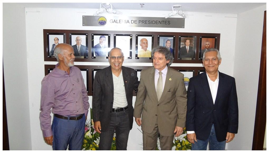Aristeu Lima, José Moraes, João Antunes e Ivo Arruda.