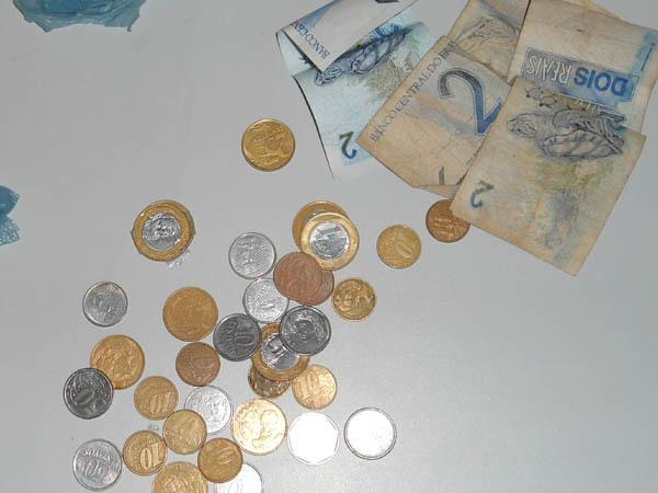 dinheiro trocado