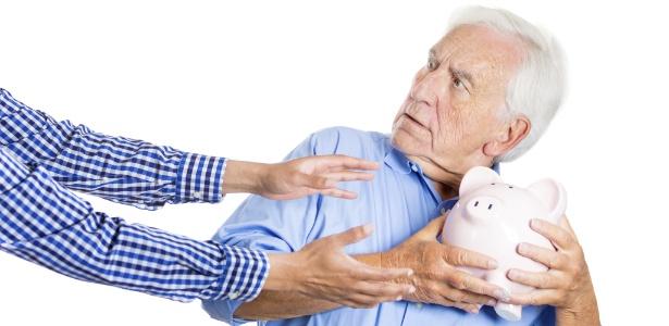 aposentadoria velho poupanca
