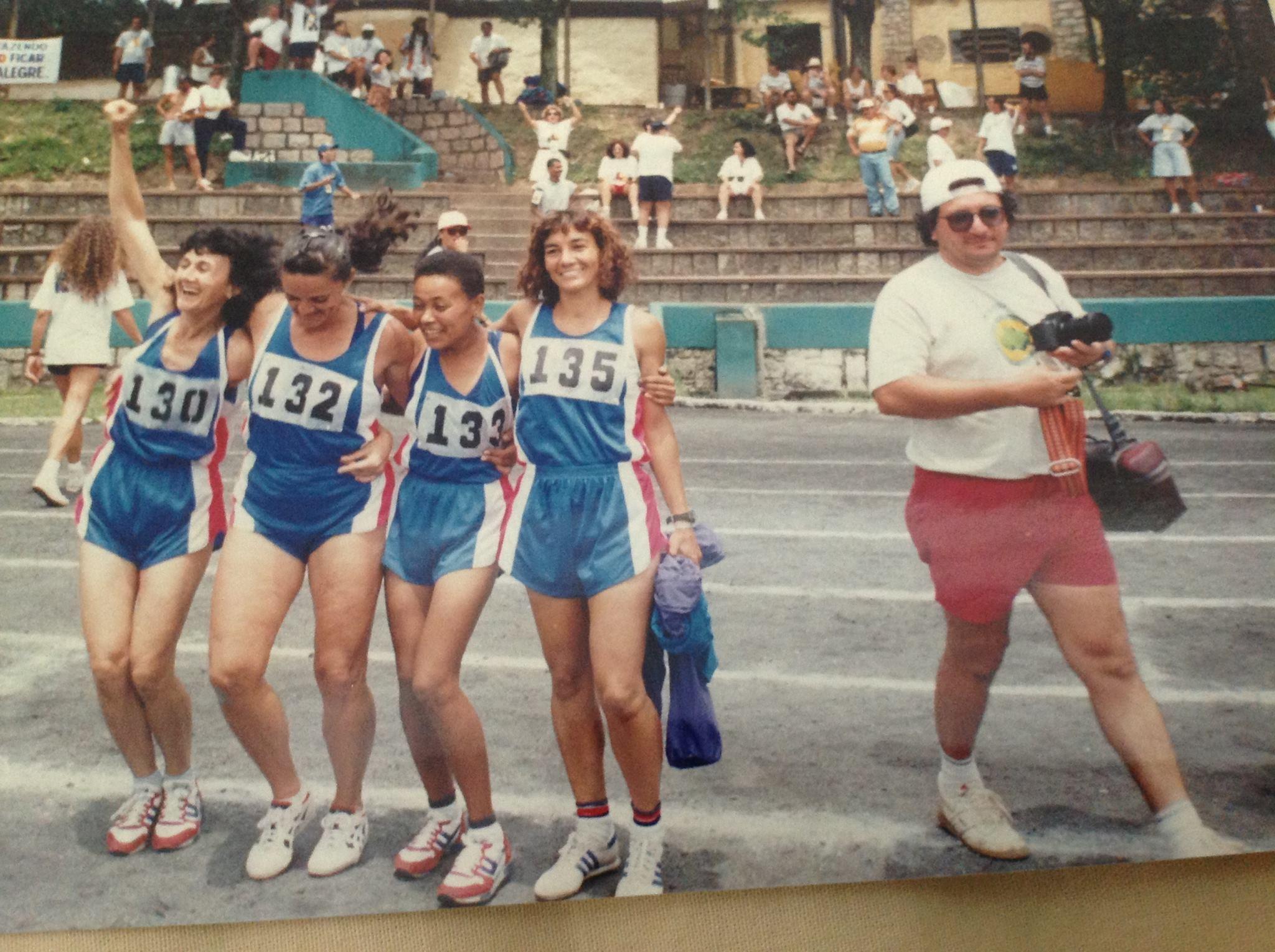 VI JOIDS -1995 PORTO ALEGRE EQUIPE DE ATLETISMO DA BAHIA