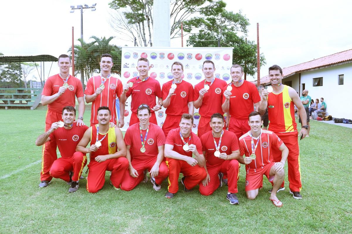 futebol bombeiros